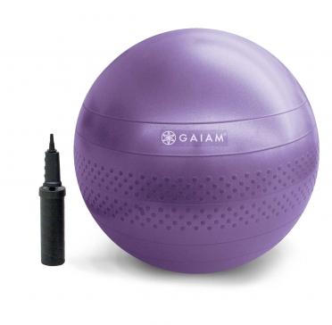 Gaiam Total balance gym ball kit (Medium - 55cm)