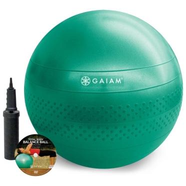 Gaiam Total balance gym ball kit (Medium - 65cm)