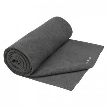 Gaiam Grippy Athletic yoga handoek Grijs
