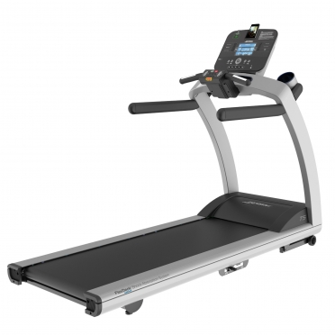 Life Fitness loopband T5 Track Console display