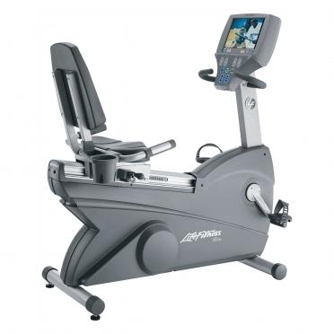 Life Fitness Recumbent hometrainer 95RE Gebruikt