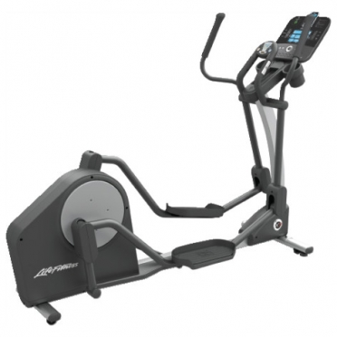 Life Fitness crosstrainer X3 Track Console display demo
