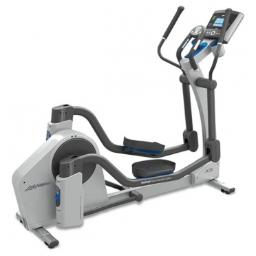Life Fitness crosstrainer X5 Go Console display