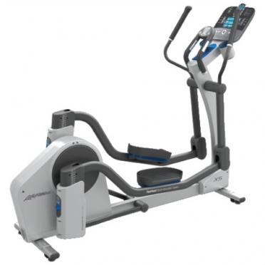 Life Fitness crosstrainer X5 Track Console display