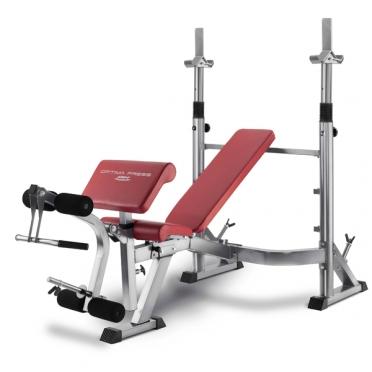 BH Fitness halterbank Optima Press