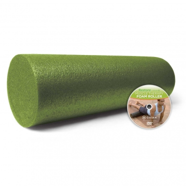 Gaiam Muscle Therapy foam roller (45 cm)