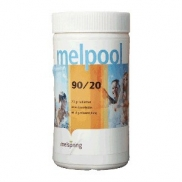 Specificaties Melpool chloortabletten (klein) 90/20 1 kilogram (kg)