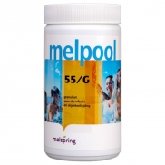 Specificaties Melpool chloorgranulaat poeder 55/G 1 kg