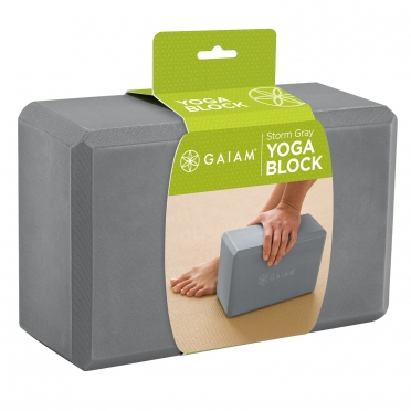 Gaiam Forest Storm Gray Yogablok