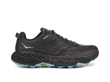Hoka One One Speedgoat 4 GTX trail hardloopschoenen zwart dames