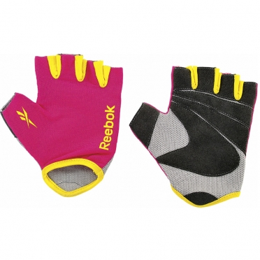 Reebok color line fitness glove magenta