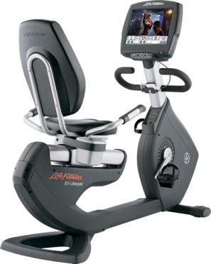 Life Fitness ligfiets 95R Engage gebruikt