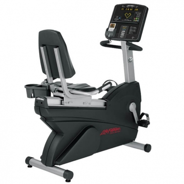 Life Fitness ligfiets recumbent Lifecycle Club Serie CSLR demo