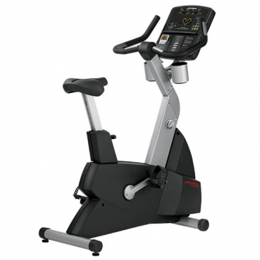 Life Fitness hometrainer Club Serie Upright lifecycle CSLU gebruikt
