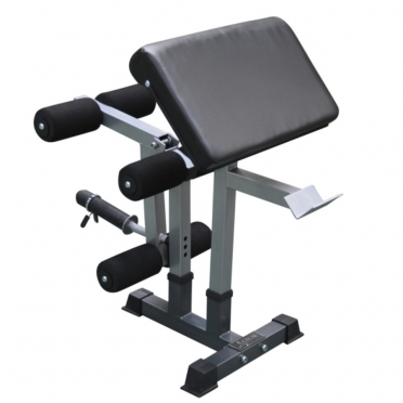 DKN Preacher Curl - Leg Extension 20681 attachment voor DKN Heavy Duty Bench