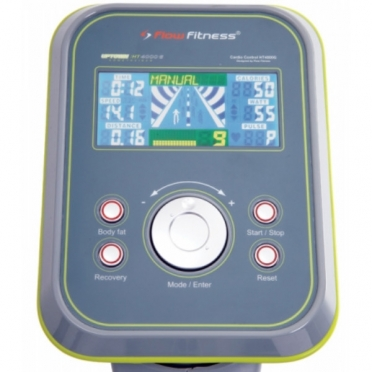 Console voor Flow Fitness hometrainer UP TOWN HT4000G
