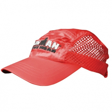 Ironman venti race cap red
