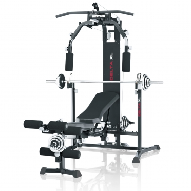 Kettler trainingsstation DELTA XL inclusief Curlpult 07707-755 Demo