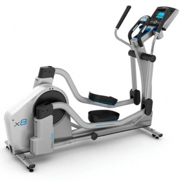 Life Fitness crosstrainer X8 Go console display