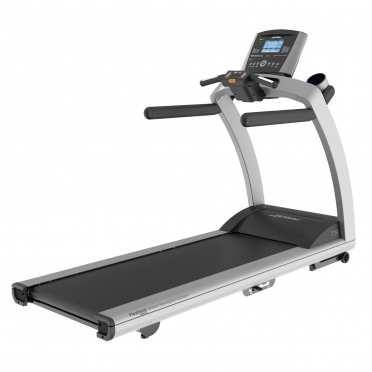 Life Fitness loopband T5 Go Console display