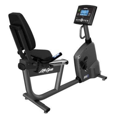 Life Fitness recumbent ligfiets RS1 Go showroom