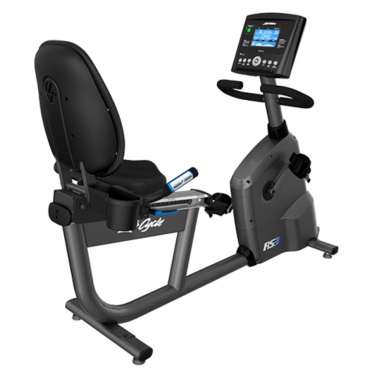 Life Fitness ligfiets RS3 recumbent LifeCycle Go console