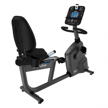 Life Fitness ligfiets RS3 recumbent LifeCycle Track+ console