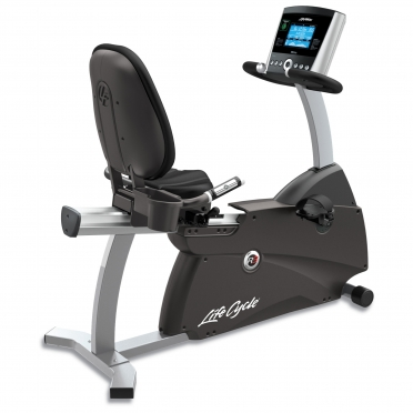 Life Fitness ligfiets recumbent Cycle R3 Go console display