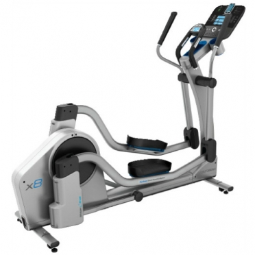 Life Fitness crosstrainer X8 Track console display
