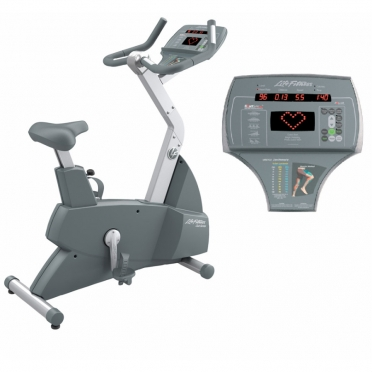 Life Fitness hometrainer Club Series Upright lifecycle 2011 SCLC Gebruikt