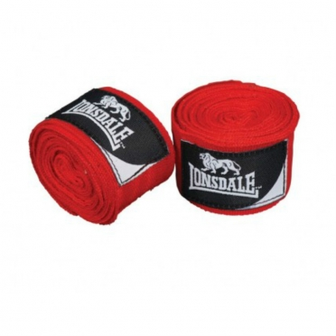 Lonsdale Boksbandage Strech Mexican 3.5M rood 402039