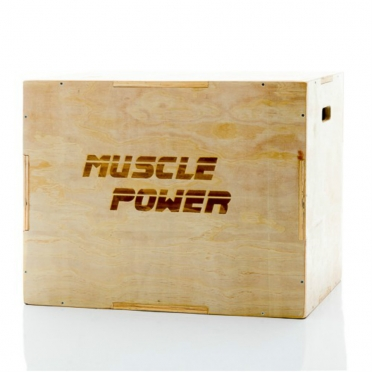 Muscle Power Kleine Houten Plyo Box MP1062