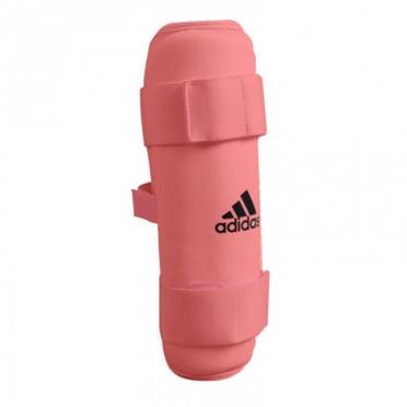 Adidas karate scheenbeschermers rood