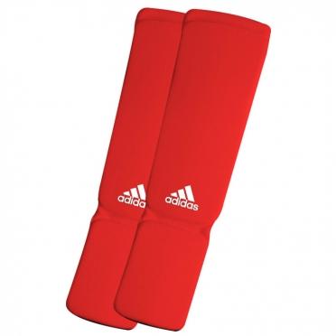 Adidas Scheenbeschermers Elastic Shin-n-Step Rood