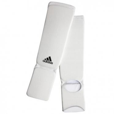 Adidas Scheenbeschermers Elastic Shin-n-Step Wit