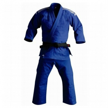 Adidas trainings judopak J500 blauw