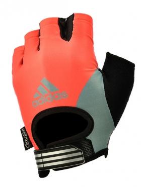 Adidas Fitnesshandschoenen dames rood