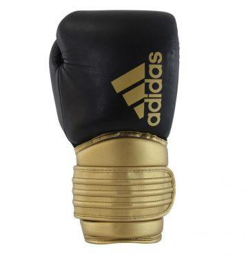 Adidas Hybrid 300 (kick)bokshandschoenen zwart/goud