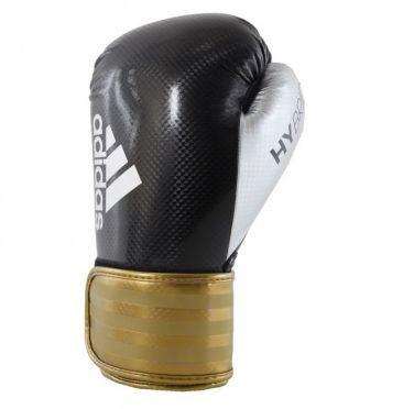 Adidas Hybrid 75 (kick)bokshandschoenen zwart/goud