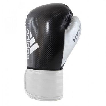 Adidas Hybrid 75 (kick)bokshandschoenen zwart/zilver