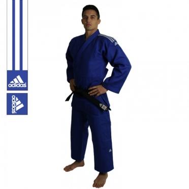Adidas Judopak Champion II IJF Approved blauw