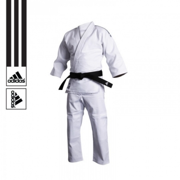 Adidas trainings judopak J500 wit