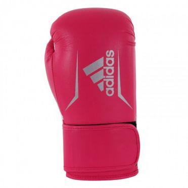 Adidas Speed 100 (kick)bokshandschoenen roze/zilver