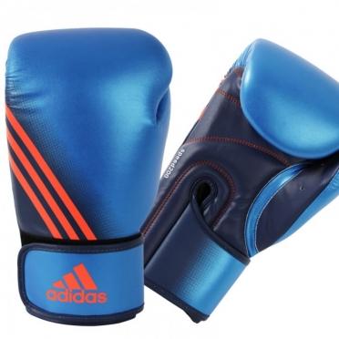 Adidas Speed 200 (kick)bokshandschoenen blauw/oranje