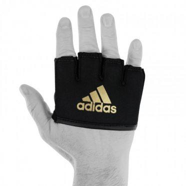 Adidas Knokkelbeschermer met gel zwart/goud
