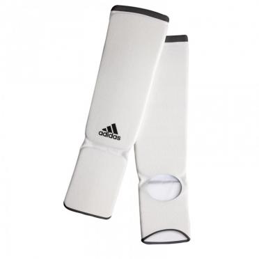 Adidas elastische scheen- en wreefbeschermers