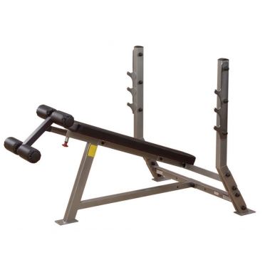 Body Solid halterbank Decline Olympic Bench (SDB351G)