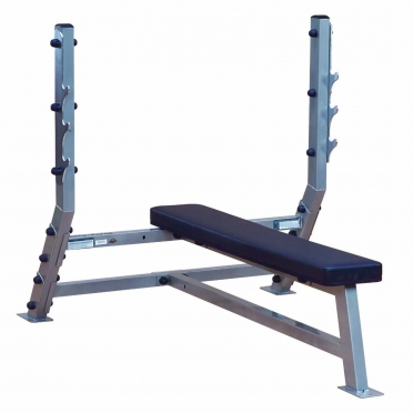 Body Solid halterbank Flat Olympic Bench (SFB349G)
