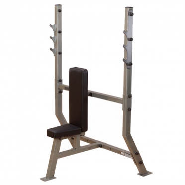 Body Solid halterbank Shoulder Press Olympic Bench (SPB368G)