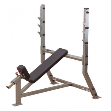 Body-Solid Pro ClubLine Incline olympic halterstation